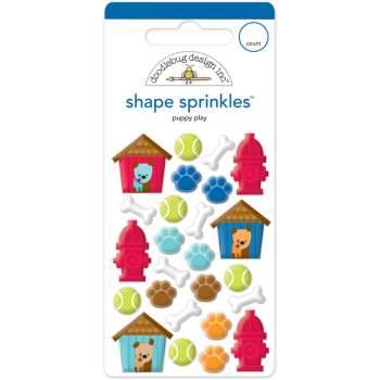 Doodlebug - Sprinkles Stickers Puppy Play