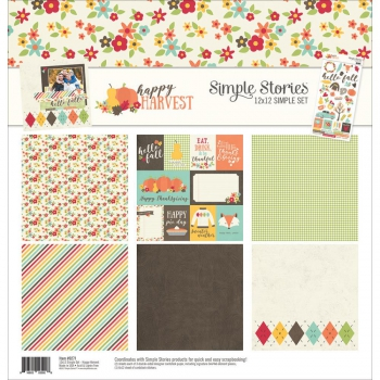 Simple Stories - Happy Harvest Simple Set 12""