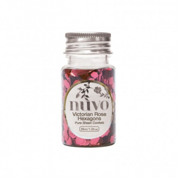 Tonic - Nuvo Confetti Victorian Rose Hexagons