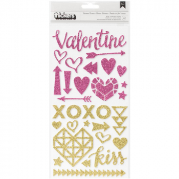Crate Paper - Kiss Kiss Thickers Valentine