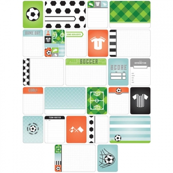 Project Life - Becky Higgins Themed Cards Fußball / Soccer