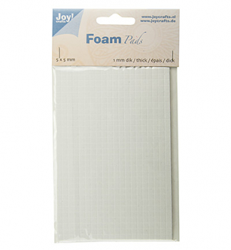 Joy! Crafts - Foam Pads 5x5mm /1mm dick