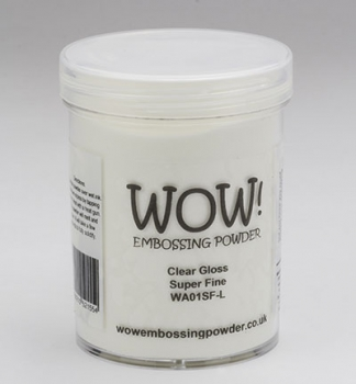 WOW! - Embossing Powder Super Fine White 160ml