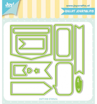 Joy!Crafts - Cutting Die Bullet Journaling
