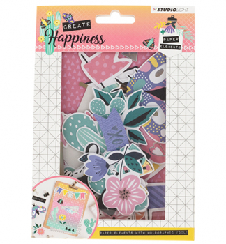 Studio Light - Happiness Paper Elements 648