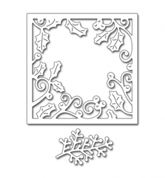 Penny Black - Creative Dies Holly Frame