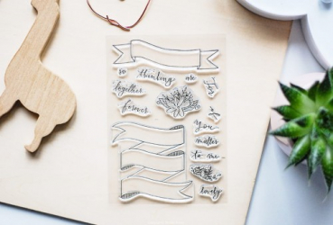 Studio Forty - Let´s Party Clear Stamps Together Forever