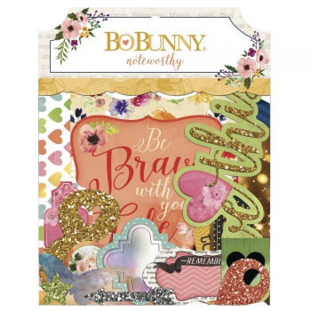 Bo Bunny - Calendar Girl Noteworthy Die Cuts