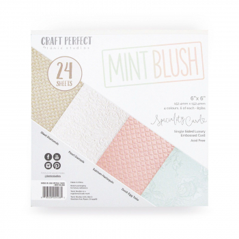 "Tonic Studios - Speciality Cardstock 6"" Mint Blush"
