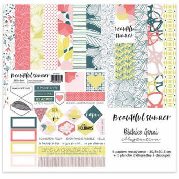 Beatrice Garni - Beautiful Summer Paper Set