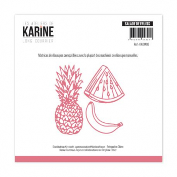 Les Ateliers De Karine - Die Long Courrier Salade de Fruits