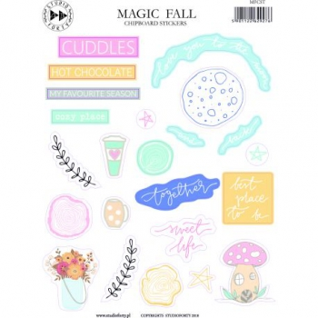 Studio Forty - Magic Fall Chipboard Stickers