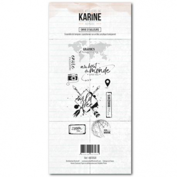 Les Ateliers de Karine - Nomade Clear Stamp