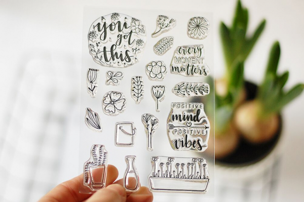 Studio Forty - Daydream Clear Stamp You got this