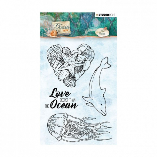 Studio Light - Ocean View Clear Stamp 368