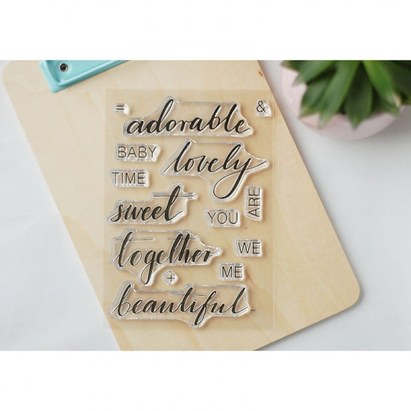 Studio Forty - Clear Stamps Adorable