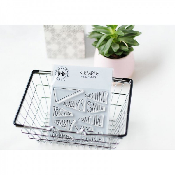 Studio Forty - Clear Stamps Always Smile