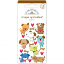 Doodlebug - Sprinkles Stickers Puppy Love