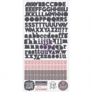 Prima Marketing - Rose Quarz Alphabet Stickers