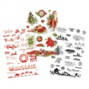 Simple Stories - Simple Vintage Christmas Clear Sticker
